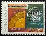 Pedro Nvnes, O Nonio, Portugal -Handmade Framed Postage Stamp Art 21400AM