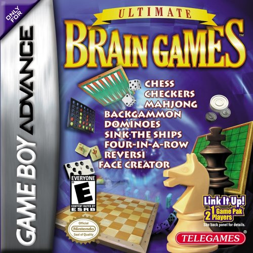 GameBoy Advance - Ultimate Brain Games