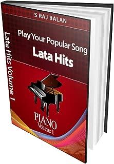 PIANO SHEET MUSIC BOOKS LATA HITS VOL 1 BY RAJ BALAN S