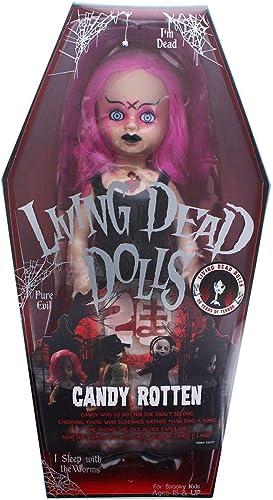 precios al por mayor Living Dead Dolls 20th 20th 20th Anniversary Series 10-Inch Collector Doll - Candy rojoten  edición limitada