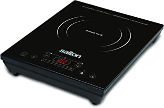 Salton ID1350 Portable Induction Cooktop, Black