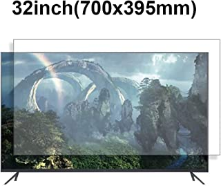 KUYUC Anti Blue Light 32 Inches TV Screen Protector, LED Ultra-Clear Screen Filter, Eye Protection Anti-Glare Filter Film, LCD Anti-Scratch Screen Protector (Color : A)