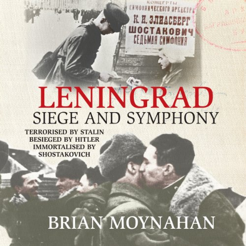 Leningrad audiobook cover art
