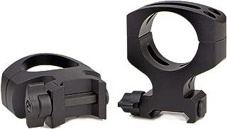 Warne Scope Mounts 30 mm MSR QD Matte Rings (2 Piece), Black