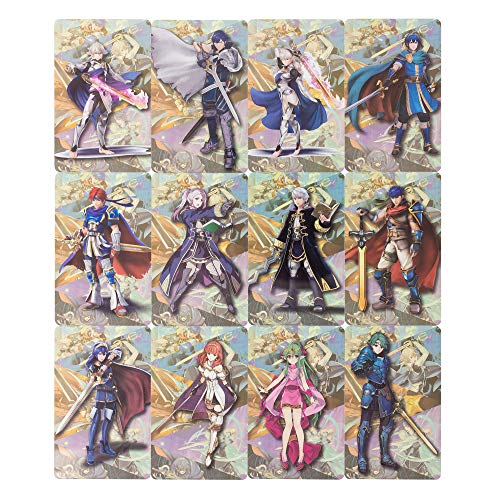 MICROGAME NFC Tag Game Cards for Fire Emblem: ThreeHouses - 12pcs Cards with Metal Case
