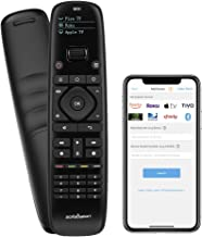 Best SofaBaton Universal Remote Control with Mobile Phone APP, Super Easy One-Click Universal Remote for FirTV/Roku/Nvidia Shield/Vizio/Marantz/Yamaha Streaming Players (Support IR & Blutooth Devices) Review