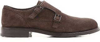 Tod's Homme XXM0XR0Q650RE0S800 Marron Suède Chaussures À Boucles
