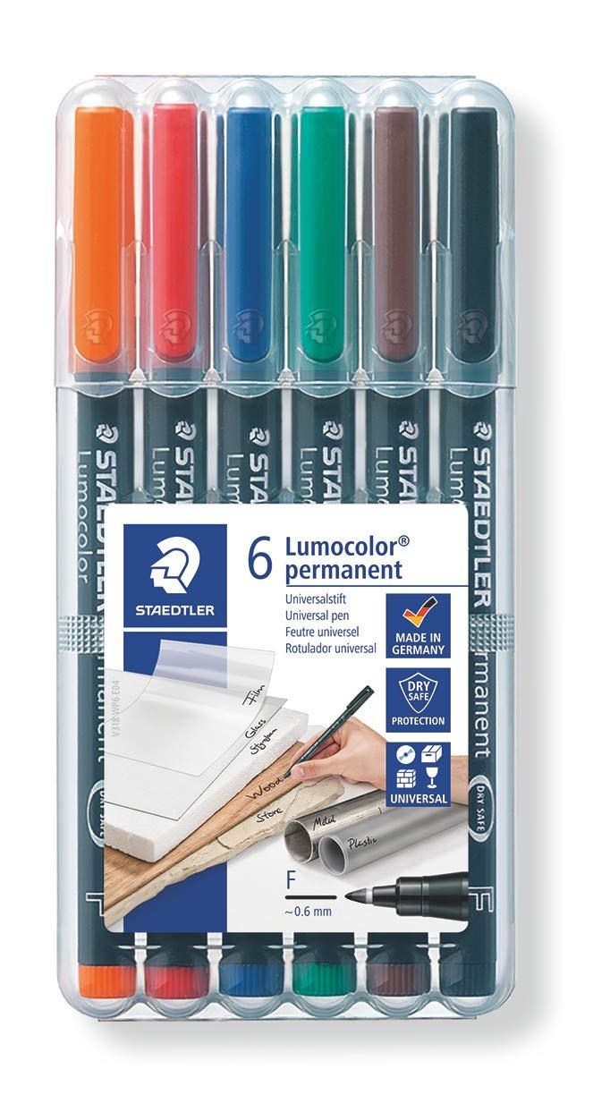 Fine Marker Point Type Staedtler Lumocolor Fine Point Permanent Marker