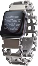 BestTechTool watch adapter compatible with LEATHERMAN TREAD - BTT adapter (compatible with Apple watch 44mm/ 42mm, Stainless Steel, TREAD)