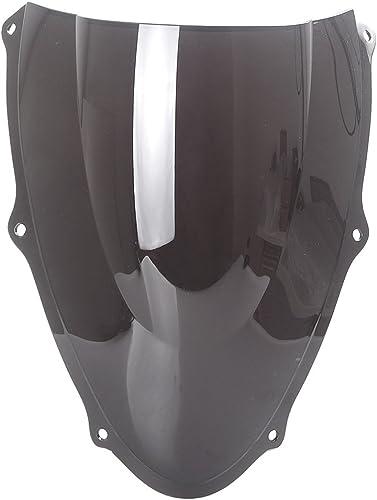 lowest Mallofusa Motorcycle Windscreen Windshield Compatible for Suzuki TL1000R outlet online sale 1998 1999 2000 2001 2002 online sale Black outlet sale