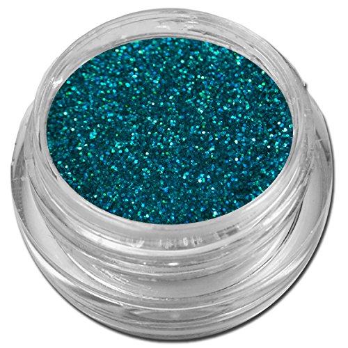 Hologramm Glitzer Glitter Puder Blau Türkis Holo Nailart