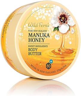 Wild Ferns Manuka Honey Sweet Indulgence Body Butter, 175g, Pack of 1