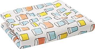 مجموعة مكوّنة من غطاء نوم للاطفال ومفرش و3 وسائد - NK111، برتقالي وازرق