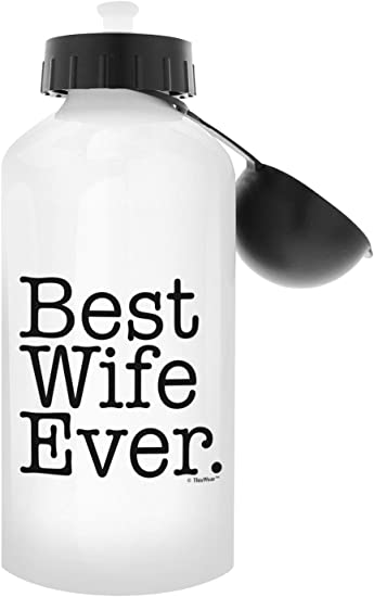 Thiswear Best Husband Gifts Best Husband Ever Husband Wedding For Men Gift 20 Oz Aluminum Water Bottle With Carabiner Clip Top Best Husband Sports Outdoors