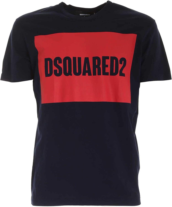 DSQUARED2 T-Shirt BLU S74GD0720S22427478 BLU Uomo