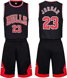 Wanxida Maillot de Basket,James Lakers No.23 Basketball Jersey Basketball Jersey Top et Short Sportwear Ensemble