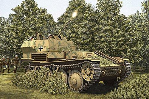 Hobby Boss 80140 – Modèle Kit German Flak 38 Panzer, 2 cm