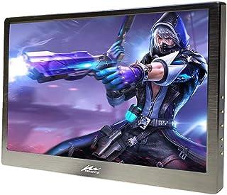 Kenowa Portable Monitor 13.3 Inch 1920x1080 Dual Mini HDMI IPS Computer Gaming Display Monitors for Raspberry Pi 1 2 3 Xbo...
