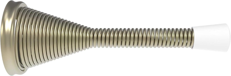 Brixwell 19-204-XCP50 Brass Solid Albuquerque Mall Door Max 55% OFF Flexible pa Bumper Stop -