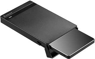 Salcar【2019最新版】USB3.0 2.5インチ 9.5mm/7mm厚両対応 HDD/SSDケース SATAⅠ/Ⅱ/Ⅲ対応 UASP対応 Windows/Mac 工具不要 簡単脱着 5Gbps 1年保証