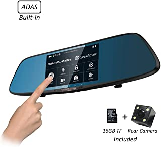 GeekRover Rearview Mirror Dash Cam DVR 5