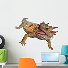 Regal Horned Lizard Wall Decal by Wallmonkeys Peel and Stick Graphic (24 in W x 18 in H) WM345130