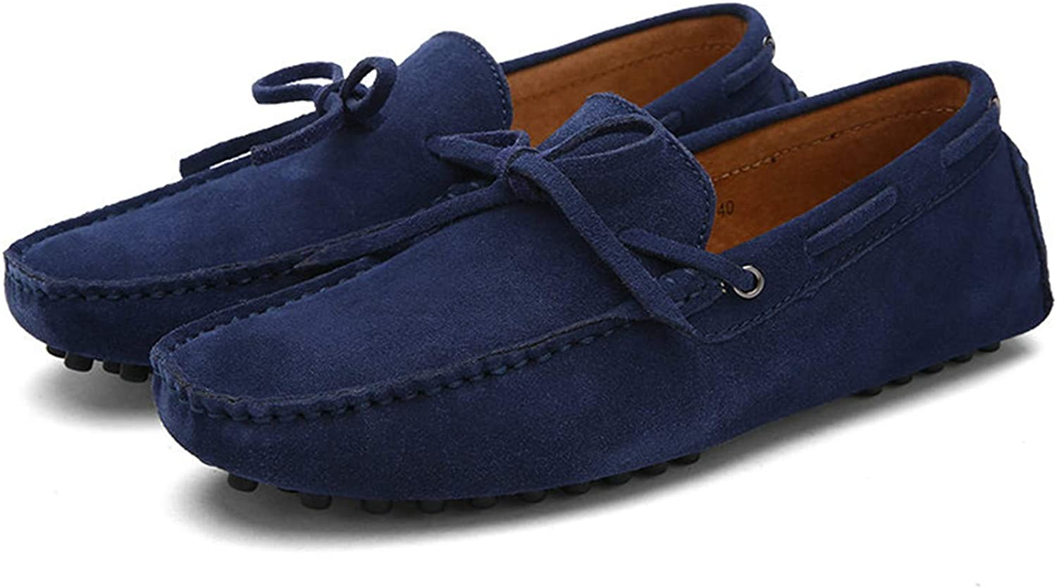 Light Brand Big Size Cow Suede Leather Men Flats New Men Casual shoes Men Loafers Moccasin Driving