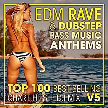 EDM Rave & Dubstep Bass Music Anthems Top 100 Best Selling Chart Hits + DJ Mix V5