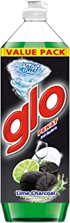 Glo Pekat Dishwashing Liquid, Lime Charcoal, 1.35L