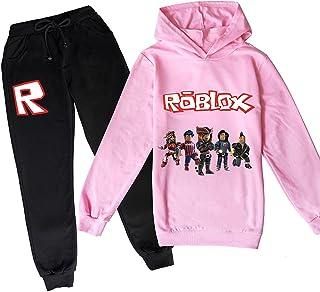 ZKDT Roblox - Sudadera con capucha clásica y cómoda para niños y niñas de 3 a 14 (estilo 2,160)