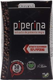Drasanvi Piperina Forte 60 cápsulas, formulado con un 95%