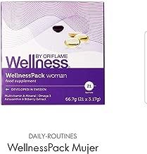Buy 3 get 1 free Oriflame Wellness Pack Woman Multivitamin