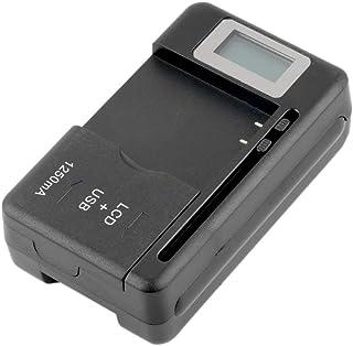 4d24e07bba8 Indicador LCD Cargador móvil Universal de la batería de la Pantalla para  teléfonos celulares con Puerto