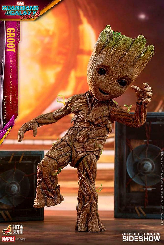buen precio Hot Hot Hot Juguetes Guardians of The Galaxy Vol. 2 Life-Talla Masterpiece Acciónfigur Groot Slim Vers  online al mejor precio