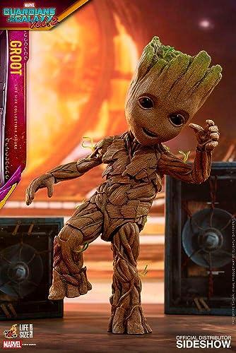 cómodo Hot Toys Guardians of The Galaxy Vol. 2 Life-Talla Masterpiece Masterpiece Masterpiece Actionfigur Groot Slim Vers  mejor reputación
