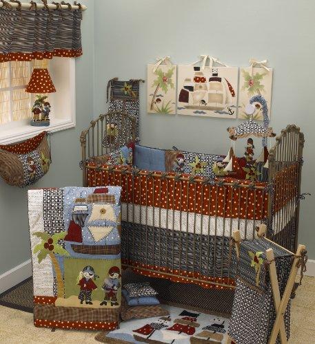 Cotton Tale Designs 8 Piece Bedding set, Pirates Cove by Cotton Tale Designs