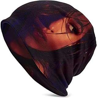LinUpdate-Store Camila Cabello Hedging Hat Unisex Skull Hat Knitt Hat Gorro para otoño/Invierno Cap-7ZM1-SC2C