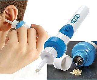J.GH Automatischer Ohrreiniger Ohr-Pick-Clean-Tools-Set f/ür Erwachsene elektrische Vakuum-Ohr-Wachs-Absaugvorrichtung