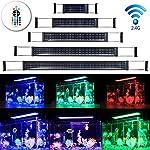 DOCEAN-LED-Aquarium-Beleuchtung-SMD-5050-Aquarium-LED-Lampe-RGB-Aquarien-Leuchte-LED-Licht-Aufsetzleuchte-fr-Swasser-Aquarien-Einstellbare-Lnge