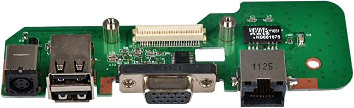 Eathtek Replacement Power Jack USB Octagonal Board for DELL Inspiron 1545 DC Charger