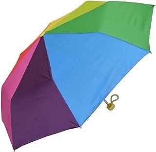 CAFE DIMLY(カフェディムリー) キッズ・ジュニア レインボーキッズカサ 50cm 折りたたみ傘