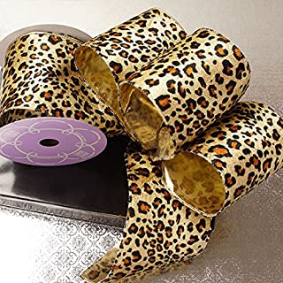 Best wired leopard ribbon Reviews