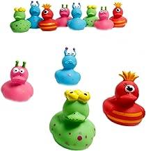 Fun Express 12 Vinyl Monster Rubber Duckies