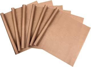 Adecco LLC Lot de 3sacs four anti-adhésif résistant à la chaleur Tapis de Craft Press Feuilles de Transfert de chaleur (4...