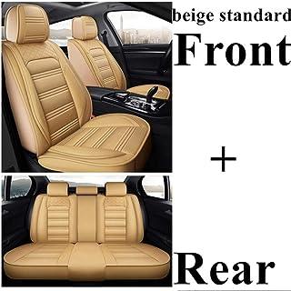 OPOPDLSA Coprivolante per auto in pelle artificiale nera per Land Rover Freelander 2 2007-2012
