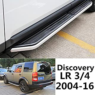 Side Steps For Land Rover Discovery 3 4 LR3 LR4 2004-2016 Door Nurf Bar Running Board OEM Style