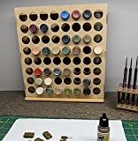 GameCraft Miniatures Vertical Paint Rack - 26mm, for Vallejo and Army Painter Style Dropper Bottles - NOT for 2oz Craft Paints