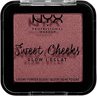 NYX PROFESSIONAL MAKEUP Sweet Cheeks Shimmer Blush, Fig