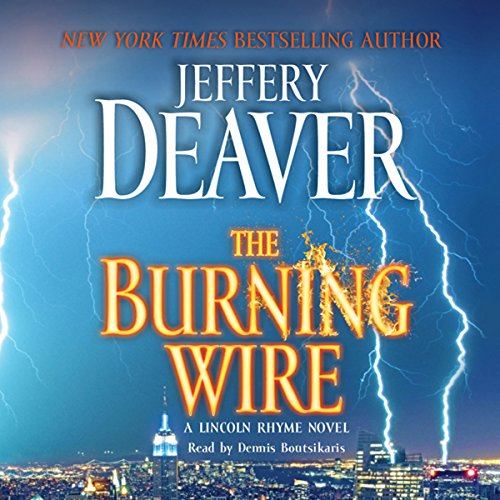 The Burning Wire audiobook cover art