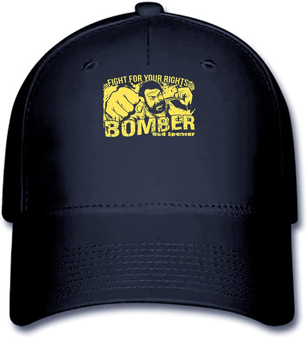 Bomber Bud Spencer Jerry Cala Box Mans Baseball Cap Hat Design Baseball Caps Soft Women Baseball Cap Baseball Cap 7006